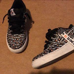 Worn 1 Time Size 4.5 Nike Af1 JDI